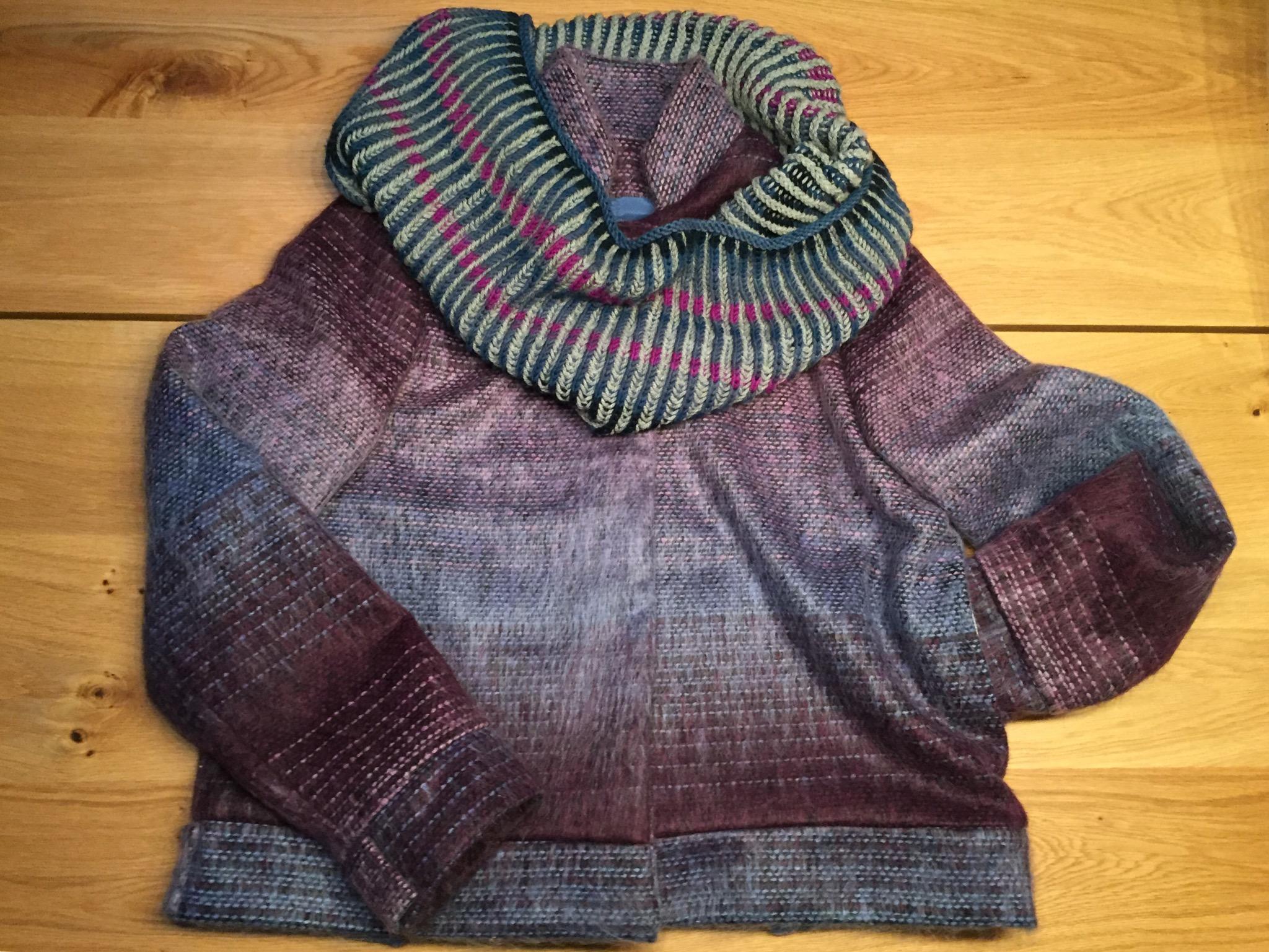 Helen vest en brioche sjaal